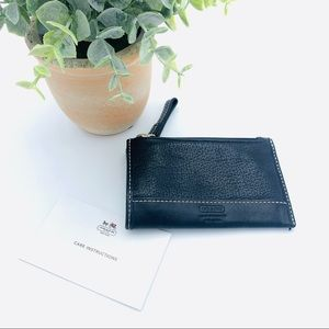 COACH WOMEN'S Credit Card Holder mini wallet black